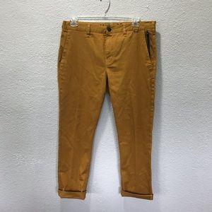 Hurley Mustard Yellow Chino Khaki Pants